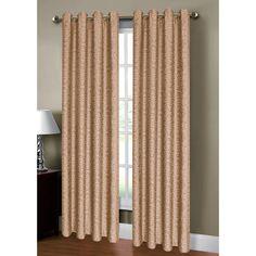 Mirabel Jacquard Extra Wide Grommet Single Curtain Panel