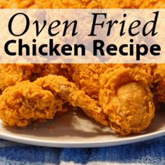 Clinton Kelly's Oven-Fried Chicken Recipe & Old Fashioned Cocktail ADVERTISEMENT  The Chew: Clinton Kelly's Oven-Fried Chicken  Clinton Kelly remade a classic food favorite with his Oven-Fried Chicken Recipe. For those of you out there that love fried chicken but hate all of the calories that you get with it, this oven-fried alternative is for you. Get this, Clinton Kelly's Oven-Fried Chicken recipe has half the calories of regular fried chicken. With the yogurt in the recipe keeping the…