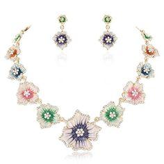 Ever Faith Austrian Crystal Multicolor Art Nouveau Enamel Hibiscus Jewellery Set Gold-Tone N03738-1 Ever Faith http://www.amazon.co.uk/dp/B00LSG7T04/ref=cm_sw_r_pi_dp_yzeUvb1ABDDBS