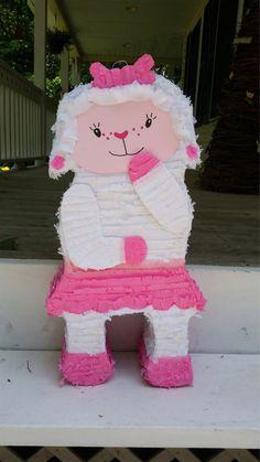 Hey, I found this really awesome Etsy listing at https://www.etsy.com/listing/193464954/baby-lamb-pinata-cute-lamb-pinata-doc-mc