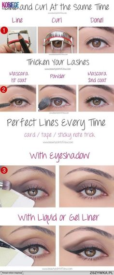 3 tricks make up
