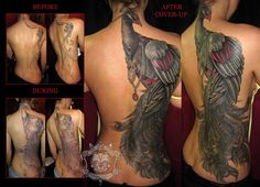 Tattoo of the day    Share if you Like it.  Artist: Tim Kern