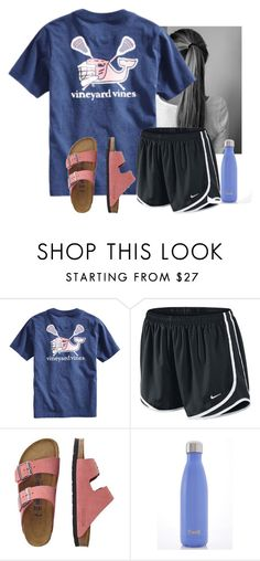 """Wish I could watch my cousin play lacrosse"" by flroasburn ❤ liked on Polyvore featuring Vineyard Vines, NIKE, TravelSmith and Swell"