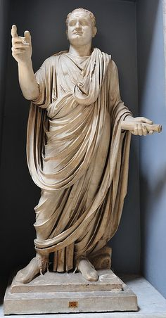 Caesar Titus, ruled 79-81CE (Vatican Museum)  *As general, Titus led the destruction of Jerusalem in 70CE, and as Emperor, he built the Colosseum of Rome.