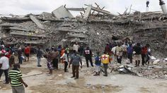 Five bodies yet to be identified in Synagogue building tragedy   Site of the collapsed building of the Synagogue Church of All Nations in Lagos Nigeria  Two years after a six-storey guesthouse belonging to the Synagogue Church of All Nations (SCOAN) collapsed in Lagos killing 116 worshippers five bodies of the deceased are yet to be identified and claimed by their families. This was disclosed yesterday at the resumed hearing of the trial in a Lagos High Court sitting in Ikeja. Briefing…