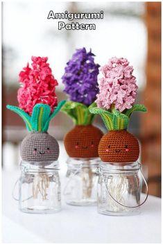 20 Best Amigurumi Doll And Animal Free Crochet Patterns - Amigurumi Free Patterns Cactus En Crochet, Art Au Crochet, Crochet Eyes, Crochet Food, Crochet Motifs, Cute Crochet, Easy Crochet, Crochet Flowers, Crochet Patterns Amigurumi