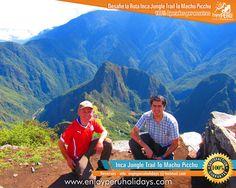 El Camino Inca por ceja de Selva a Machupicchu en Bicicleta, esta es una nueva combinación de un tour en bicicleta de montaña Down Hill y una caminata por la selva hasta llegar al Santuario de Machu Picchu, hay un montón de viajeros que están recibiendo este nueva opción, es un Trek por la selva más famosas del Perú.   Inca Jungle Trail Inca Jungle To Machu Picchu Inca Jungle Cusco - Peru Inca Jungle Trekking Inca Jungle Trekker Inca Jungle Peru Inca Jungle Trail Machu Picchu