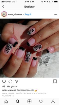 Fingernail Designs, Toe Nail Designs, Precious Nails, Toe Nails, Nail Art, Nail Arts, Gorgeous Nails, Work Nails, Made By Hands