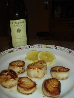 caramelized scallops - Thomas Keller - Ad Hoc at Home
