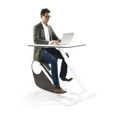 Oxidesk Achter dit bureau kun je kantoorwerk combineren met lichaamsbeweging!