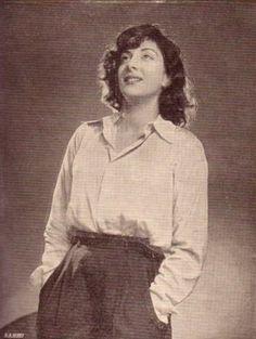Nargis in the 1950s.