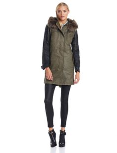 Best Winter Coats: The Military-Chic Coat French Connection women's military parade jacket, $298, amazon.com