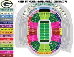 Green Bay Packers vs Minnesota Vikings Tickets 10/02/14 (Green Bay)
