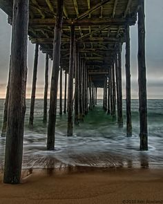 Go stand under the pier and bask in the power of creation and smell deep of the wonderful salt air!
