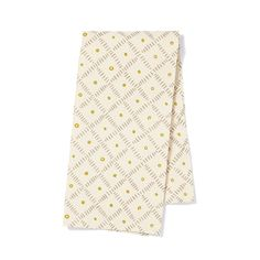 Citron/Grey Weave Tea Towel - Pehr Designs