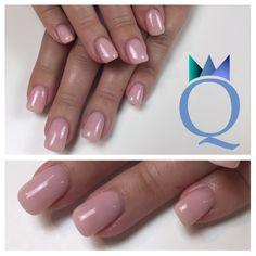 #shortnails #gelnails #nails #nudenails #rose #kurzenägel #gelnägel #nägel #nude #rosa #nagelstudio #möhlin #nailqueen_janine