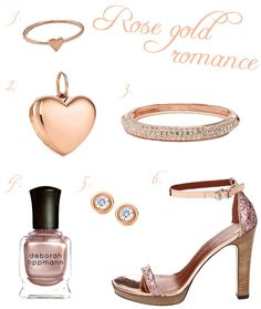 love rose gold!