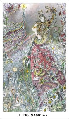 El Tarot de la ilustradora Paulina Cassidy es una preciosidad!