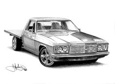 Graphite Drawing by John Harding Holden Monaro, Mouth Drawing, Aussie Muscle Cars, Australian Cars, Car Illustration, Illustrations, Cartoon Sketches, Graphite Drawings, Art And Architecture