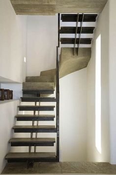 Two residences on the island of Paros - Zoumboulakis Architects All Design, Stairs, Paros Greece, Building, Projects, Staircases, House, Architects, Industrial