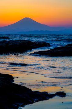江ノ島サンセット : 歩きはじめたら