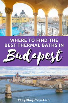 Your Insider Guide to the Best Budapest Thermal Baths Europe Travel Tips, Travel Guides, Places To Travel, Travel Destinations, Places To Go, Traveling Europe, Travel Plan, Budapest Hungary, Visit Budapest