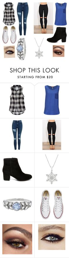 """""""Untitled #237"""" by fearless-eater-16 on Polyvore featuring American Eagle Outfitters, BOSS Orange, Topshop, Steve Madden, Cathy Waterman and Converse"""