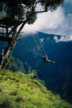 Scariest swingset ever