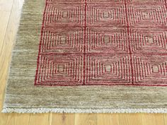 Hand-Knotted Modern Gabbeh 100 Percent Wool Oriental Rug- Product:4-7-x6-Hand-Knotted-Modern-Gabbeh-100-Percent-Wool-Oriental-Rug-Sh32224