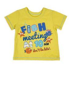 Fish Appliqué T-Shirt | Woolworths.co.za