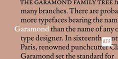 ATF® Garamond font download