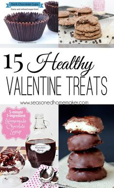 Who doesn't love a delicious dessert? How about a cookie that is good for you. This amazing collection of healthy valentine's day treats are about as good as it gets. #valentinesdesserts #valentinetreats #healthyvalentines