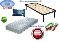 Rete materasso cuscino