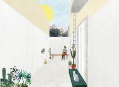 A imagem fala: ou, Por que precisamos ir além dos renders,Apartamento Graça, Lisboa, Portugal. Image Cortesia de FALA Atelier