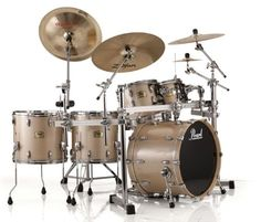 Pearl Session Studio Classic 4-PC shell pack SSC924XUP/C151 PLATINUM MIST Drum -- Awesome products selected by Anna Churchill