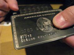 Amex Black card concierge