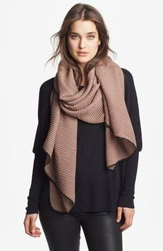 Textured scarves