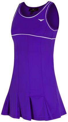 ff632027b2 #Girls purple tennis dress #pleated junior tennis dress #netball golf age 4-