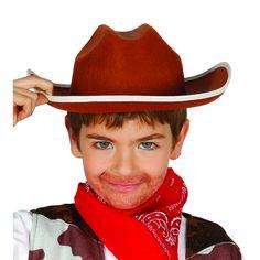 Sombrero de Vaquero Infantil #sombrerosdisfraz #accesoriosdisfraz #accesoriosphotocall