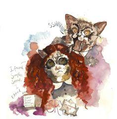 LOLcat: Teh Exhibishun | Don't Panic Magazine | Arts Puuuuuurfect!!!