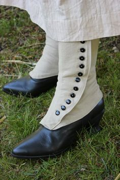 Miss Hendrie's Workbook: Spats for American Duchess boots