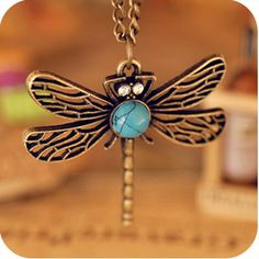 European and American jewelry retro dragonfly hollow necklace female sweater chain [olala03] - $2.15 : Fasion jewelry promotion store,Supply all kinds of cheap fashion jewelry at www.cost21.com