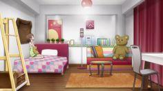 simple anime room - Google Search