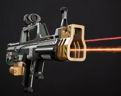 Tris: 16 519 and PBR textures Fallout Weapons, Sci Fi Weapons, Cartoon Expression, Environment Concept Art, Futuristic, North America, Guns, Europe, 3d