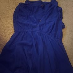 Blue button down dress Blue button down dress Dresses Midi