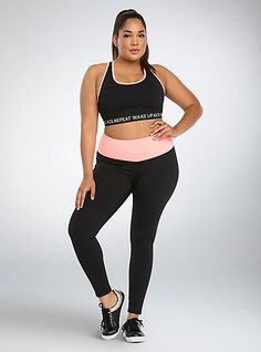 7783233eceaff Active - Wake Up Sports Bra. Plus Size ...