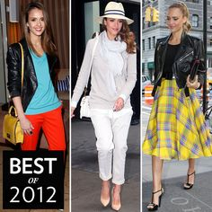 Jessica Alba Style named Best Street Style of 2012 by celebritystyle.com