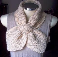 Gola de Tricô Laço #infinityscarf #gola #tricot #crochet #fashionwinter