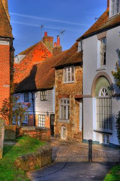 Village of Rye, Sussex, England