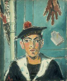 Filippo de Pisis – Il marinaio francese, 1930, olio su tela, collezione privata